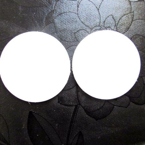 50mm Rund Magnetfolie Magnet Folie Weiss 5cm Kreis Matt