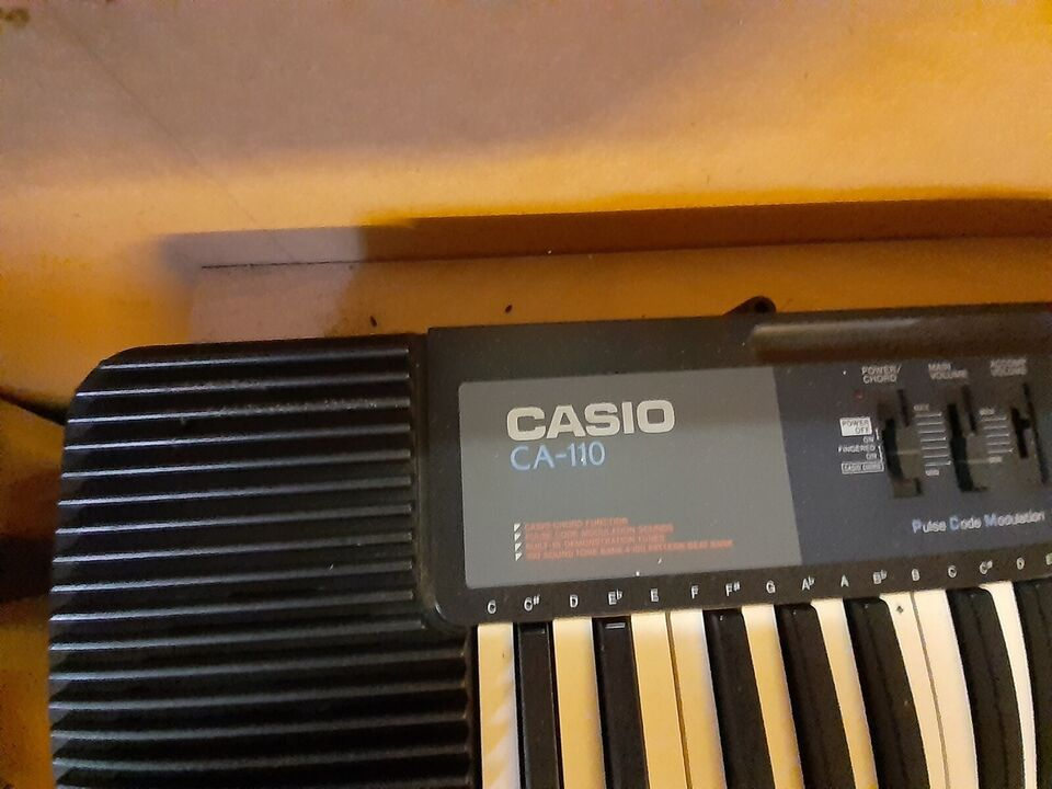 Keyboard, Casio ca-110