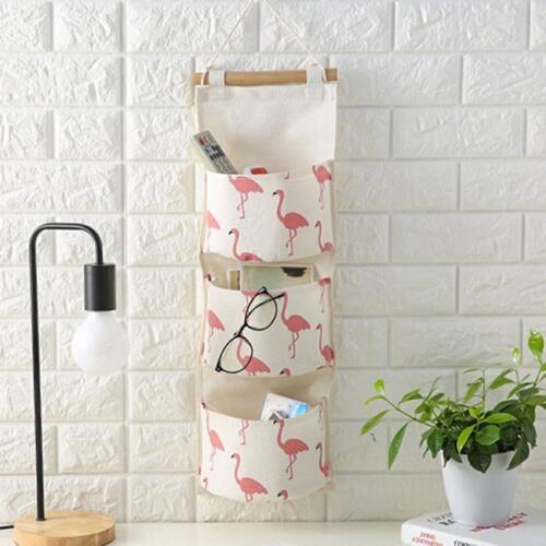 Wall Hanging Sundries Storage Bag Organizer Toys Container Decor Pocket WA