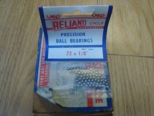 bicycle ball bearings 1//8/'/' for Hercules BSA Sunbeam headset pack 72