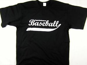 No Crying in Baseball funny sport tee shirt men's black choose A Size