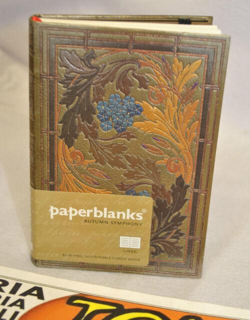 "DIARIO PAPERBLANKS VENETIAN MORNINGS /""FIAMMA MINI/"" 10x14cm LINED"