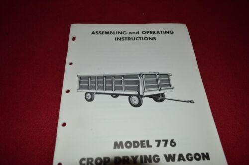 New Holland 776 Crop Drying Wagon Operator/'s Manual WPNH