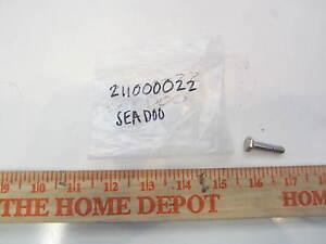 NOS Sea Doo Ski Doo Bombardier GTI GTS GS HX Wing Screw QTY 3 207961630