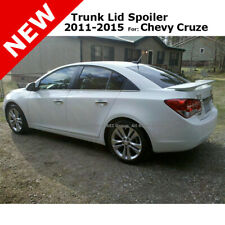 For Chevy Cruze 4dr 11 15 Trunk Spoiler Rear Painted Summit White Wa8624 Fits Cruze