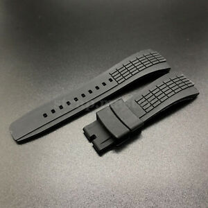 Image Is Loading 26mm Rubber Diver Watch Band Strap Replacement For