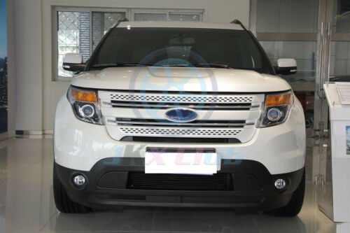 ABS Front Bumper Lower Intake Grid Grille Trim Cover j For Ford Explorer 2011-15