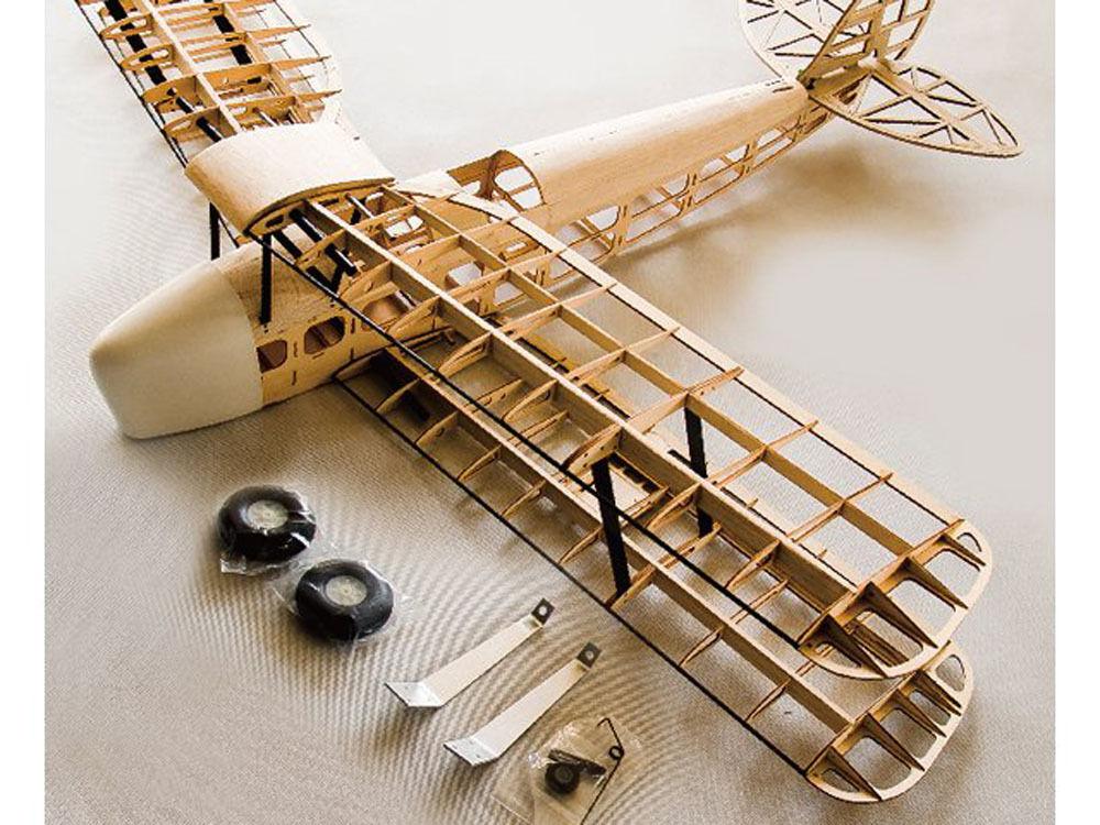 Tigre Pichler Moth madera kit Lasercut envergadura 1400 mm c8146