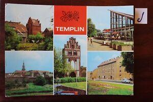 Carte Postale Vue Carte Brandebourg Templin-afficher Le Titre D'origine Gagner Une Grande Admiration