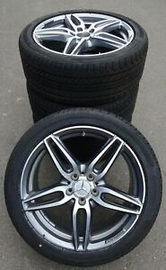 4-AMG-Mercedes-Benz-Completement-Roues-Classe-E-w213-s213-245-40-r19-a2134012000-NEUF