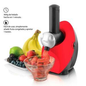 Machine à glace 100 % fruits sorbetière Très bon état Cooksclub Soft Ice Dessert