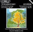Tchaikovsky: Serenade for Strings Op. 48; Dvork: Serenade for Strings Op. 22 (CD, 1989, BIS (Sweden))