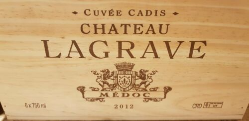 CHRISTMAS HAMPER GIFT BOX PRESENT 3 PACK FRENCH WOODEN WINE CRATE BOX STORAGE