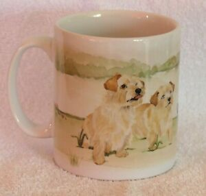 NORFOLK-TERRIER-DOG-MUG-PRINT-OFF-TO-THE-DOG-SHOW-THEME-DESIGN-SANDRA-COEN-ART