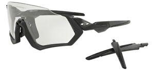 Oakley-9401-07-Flight-Veste-en-Acier-Black-Ink-Sunglasses-Clear-Iridium-Photo