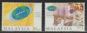 (228)MALAYSIA 1998 APEC CONFERENCE SET FRESH MNH.