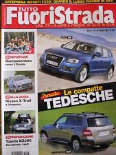 Tutto Fuoristrada n°7 2008 Audi Q5 Mercedes GLK Toyota KZJ90 [P42]