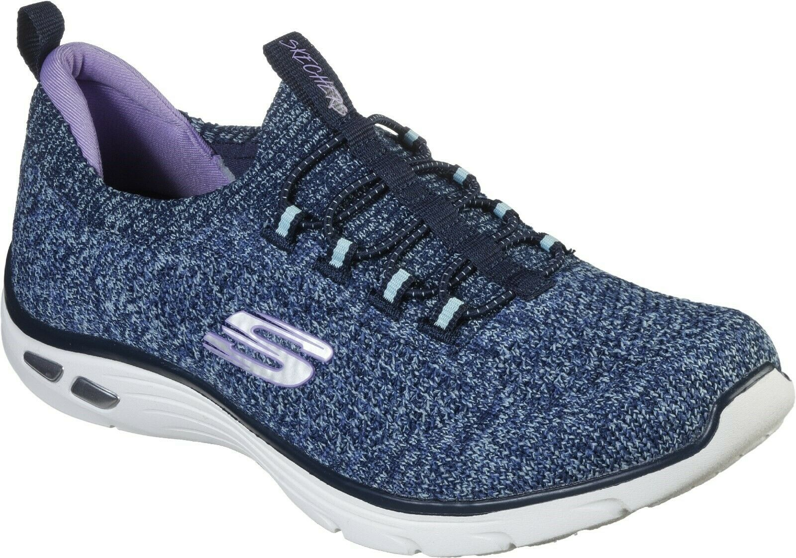 Witted Sharp D'Lux SK149007 Skechers navy Empire trainer