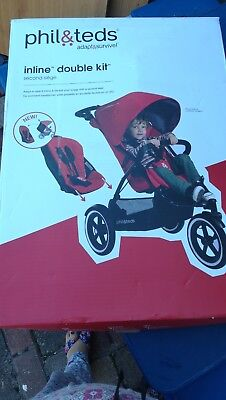 Baby Parasol compatible with Phil /& Teds Navigator Light Pink