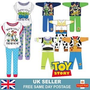 Kids Boys Girls Ladies Disney Toy Story Buzz Lightyear Woody Jessie Pyjamas Pj