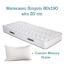 MATERASSO-MATRIMONIALE-160X190-ALTO-20-CM-TRASPIRANTE-ANTIACARO-2-CUSCINI-MEMORY