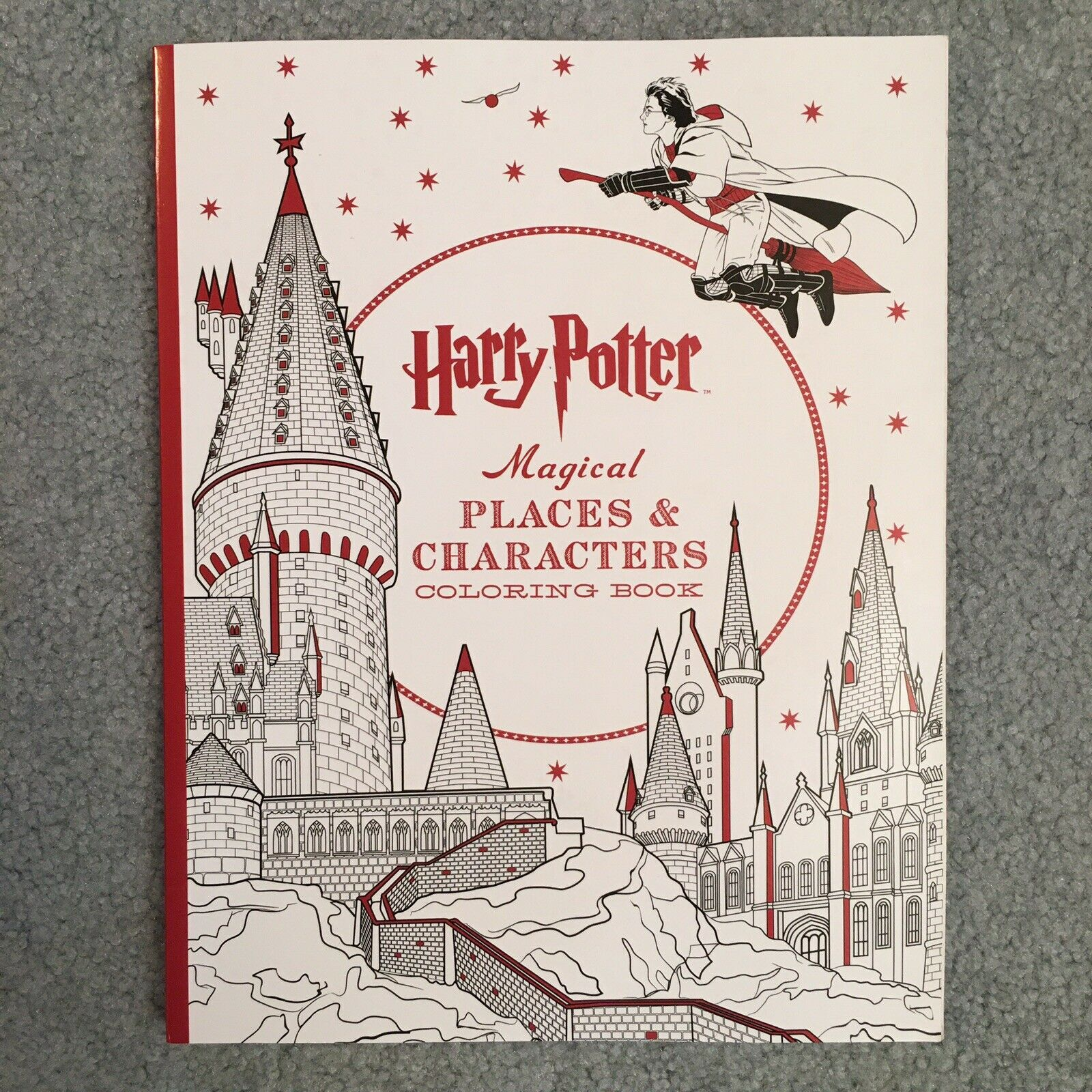 - Harry Potter Magical Places And Characters Coloring Book (2016
