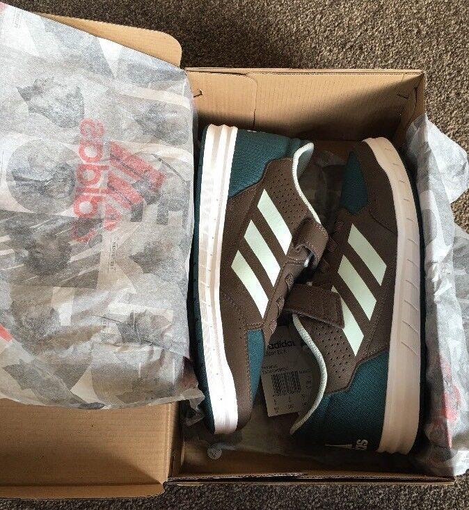 Adidas AltaSport EL K Boys Girls Women's Trainers shoes Size NEW