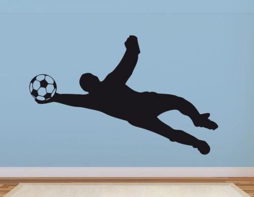 Murale gardien de but footballeurs Chambre enfant Garçon Ballon Football Mural