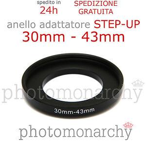 43-55mm Anello Adattatore 43mm-55mm Adattatore filtro 43-55 mm