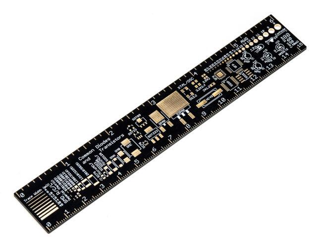 Adafruit PCB Ruler 15cm 6 inch