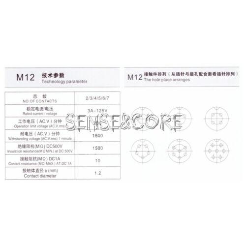 GX12 GX16 GX20 2-15Pin Aviation Plug Socket Male Female Connector Panel Metal