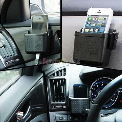 Car Universal Storage Pouch Bag Store Phone Charge Box Holder Organizer AU HF