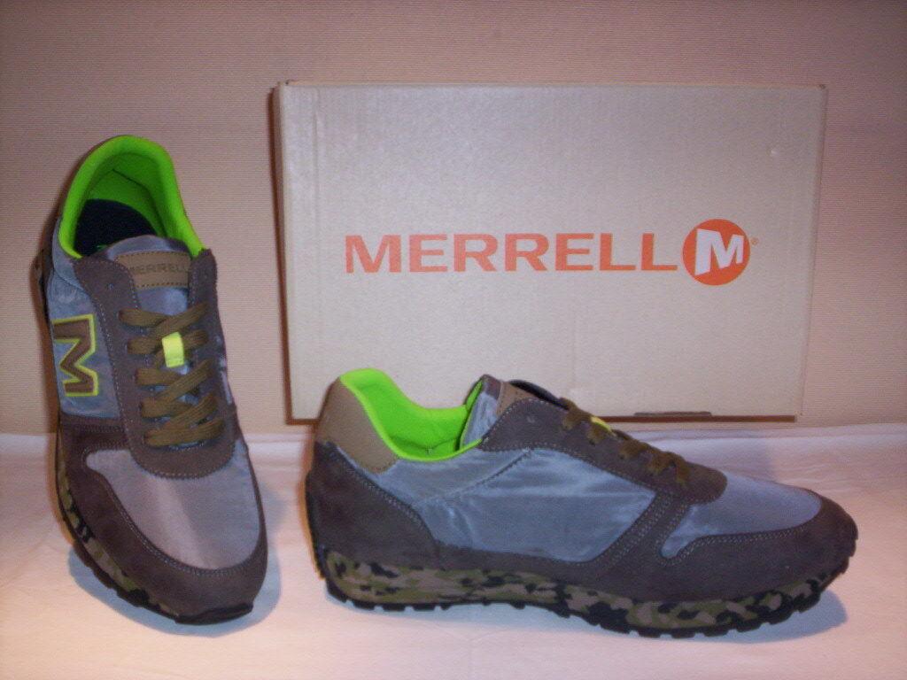 Merrell sneakers Vintage Runner Zapatos sportive sneakers Merrell casual hombre pelle tela grigie 43 d9766d