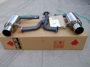 Details about HKS HI-POWER DUAL EXHAUST 06-10 LEXUS IS250 IS350 2WD