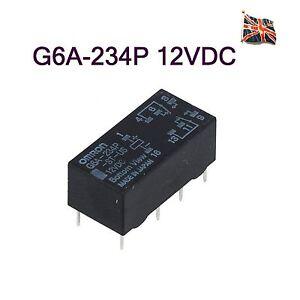ORIGINAL /& Brand New G8HL-H71 12VDC OMRON Relay NEW UK Stock 1st Class