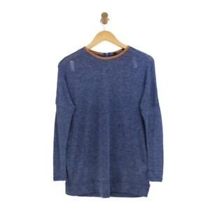 Size UK 14//16 BNWOT BPC Selection Pink Wool Blend Long Sleeve Jumper