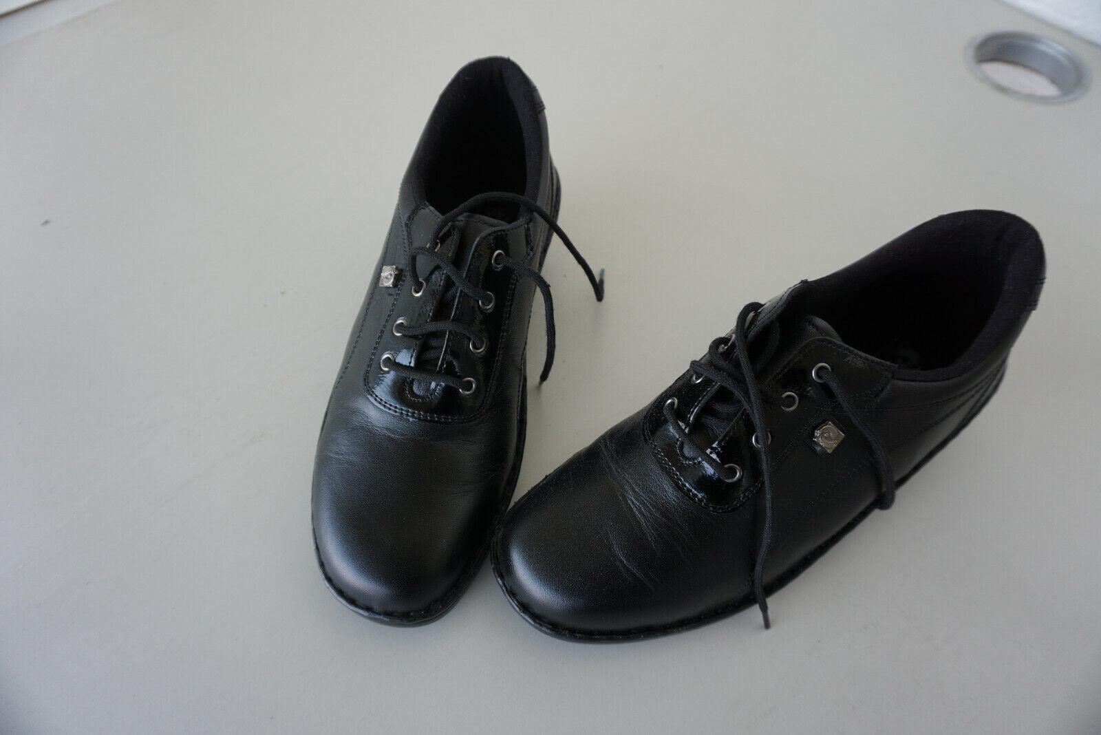 Schicke leichte ECCO Schuhe Leder Gr.38 neu