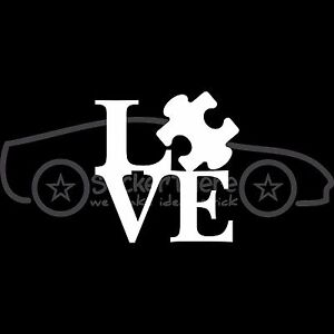 LIVE-LOVE-AUTISM-Square-Sticker-Autistic-Awareness-Decal-Family-Son-Daughter-V3