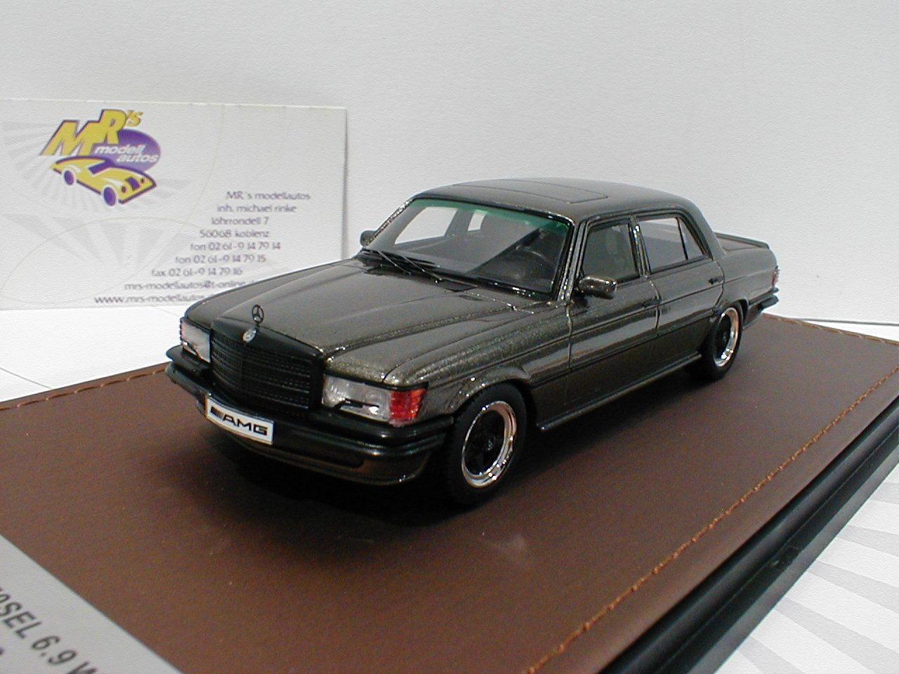 GLM 206001-MERCEDES BENZ AMG w116 6.9 anno di costruzione 1988  marrone metallizzato  1:43 NUOVO