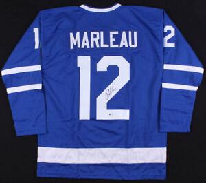 Patrick Marleau Signed Toronto Maple Leafs Jersey (JSA) Career 1997 ... 37e0c897c
