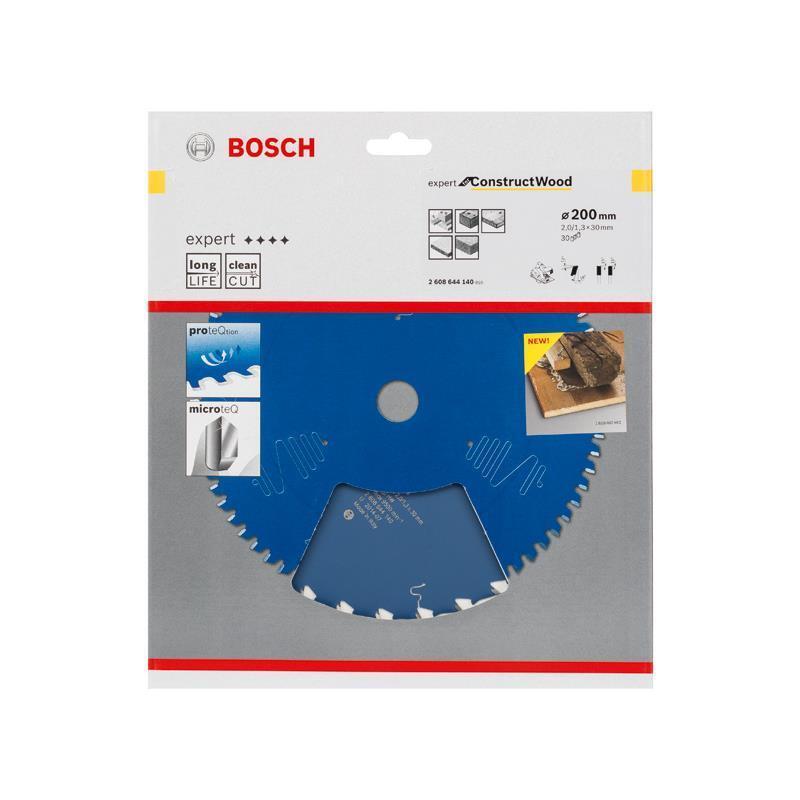 Bosch HM-Sägeblatt 200x2,0x30 Z30 2608644140 Expert for Construct Wood