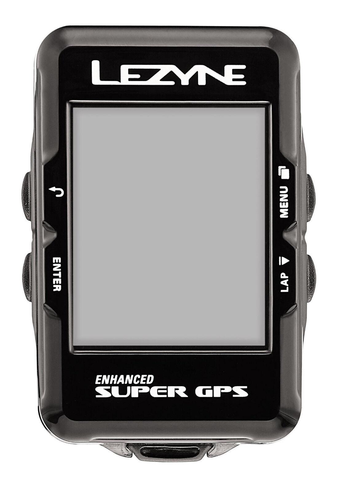 Lezyne Ciclocomputer GPS SUPER blutooth e ANT navigazione  fascia toracica2017