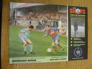 19-12-1995-Aldershot-Town-v-Boreham-Wood-League-Cup-Thanks-for-viewing-our-i