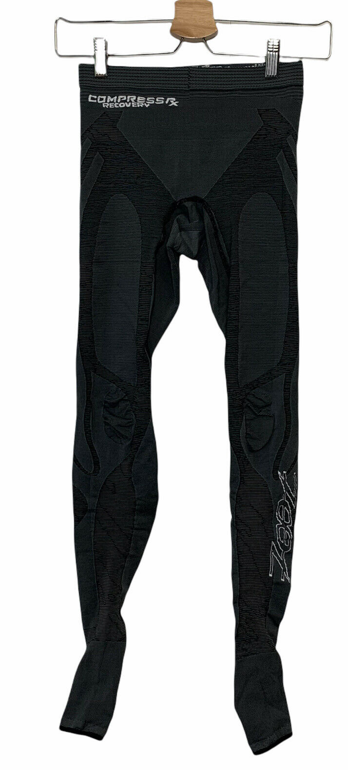 Zoot Compress RX Recovery Tights Unisex Size 0 Gray Compression Athletic Pants