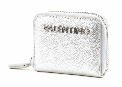 Xs Portefeuille Zip Silver Valentino Around Wallet Divina Silver 92IWHED