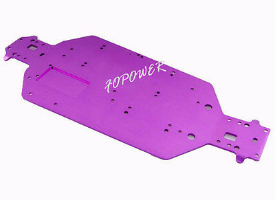 04001 Purple Metal Chassis RC HSP 1:10 94107 94110 94115 94107Pro Off-Road Buggy