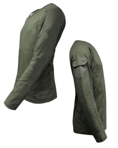 Nike ACG Mens V Neck Long Sleeve Top All Conditions Gear Khaki 167741 303 M16