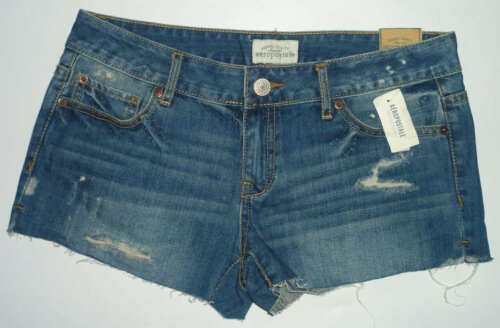 Womens AEROPOSTALE Destructed Frayed Denim Shorts NWT #0420