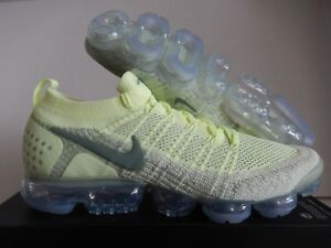 sports shoes e8ad6 26e71 Image is loading NIKE-AIR-VAPORMAX-FLYKNIT-2-ID-LIME-LIME-