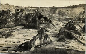 PC MALAYSIA, PENANG, OPEN CAST TIN MINES, VINTAGE REAL PHOTO